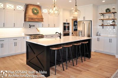 House Plan 51754HZ comes to life in Idaho! - photo 006