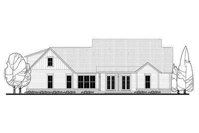 Modern Farmhouse Plan with Bonus Room - 51754HZ thumb - 03
