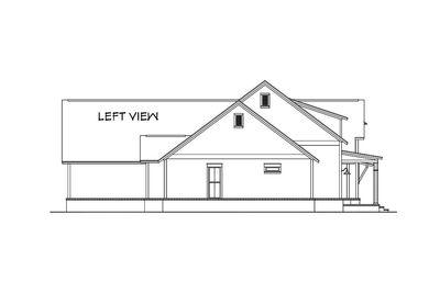 Modern Farmhouse Plan with Bonus Room - 51754HZ thumb - 04