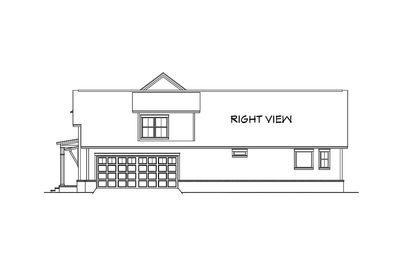 modern farmhouse plan with bonus room - 51754hz | architectural