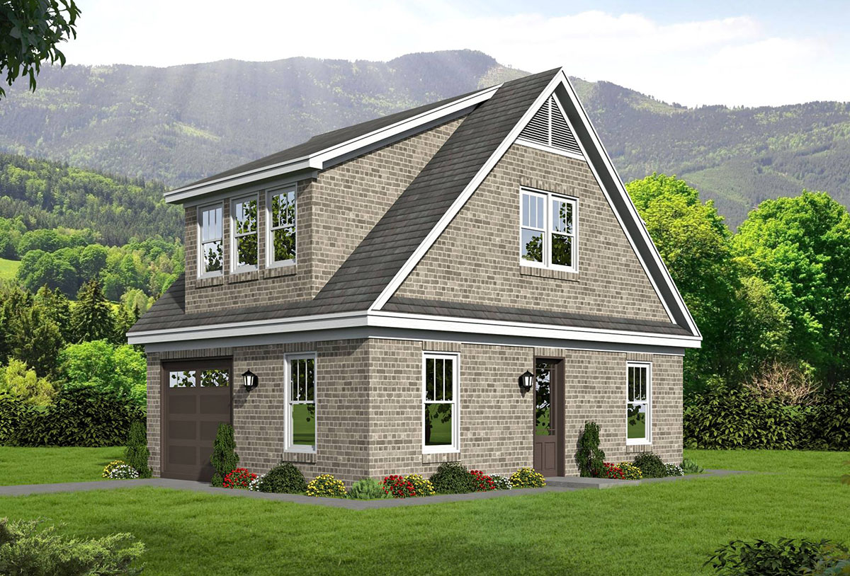Detached Garage With Rec Room And Office