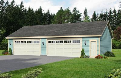 4 Car Detached Garage With Workshop Space 68450vr