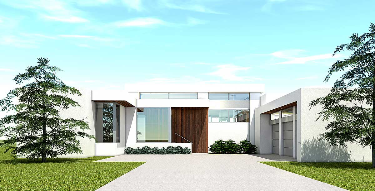 New Home Designs Latest Modern Homes Ultra Modern: Ultra Modern House Plan With 4 Bedroom Suites