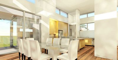 Ultra Modern House Plan with 4 Bedroom Suites - 44140TD ...