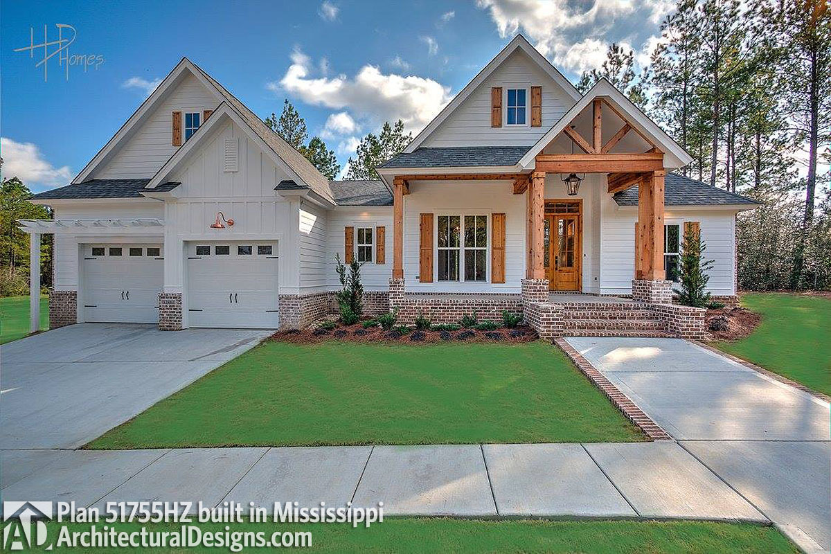 House Plan 51755HZ comes to life in Mississippi - photo 001