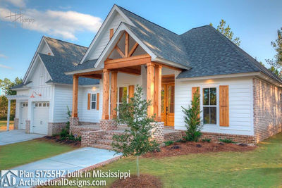 House Plan 51755HZ comes to life in Mississippi - photo 003