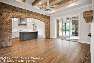 House Plan 51755HZ comes to life in Mississippi - photo 012