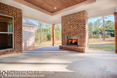 House Plan 51755HZ comes to life in Mississippi - photo 042