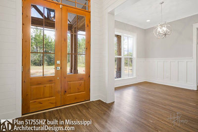 House Plan 51755HZ comes to life in Mississippi - photo 007