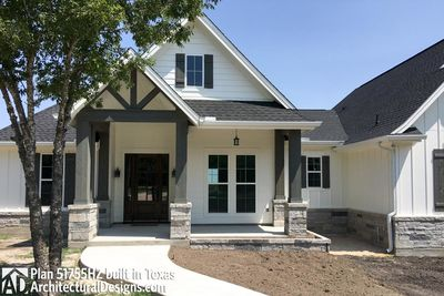 House Plan 51755HZ Comes To Life In Texas - photo 002
