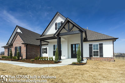 House Plan 51755HZ comes to life in Oklahoma - photo 003