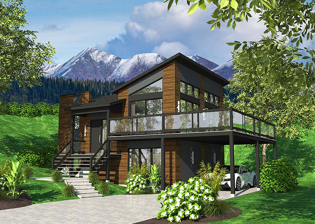 modern floor plans for new homes exciting contemporary house plan 90277pd architectural designs house plans 8800