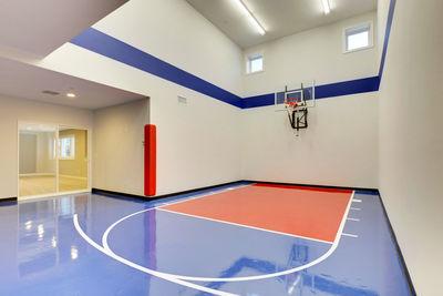 5 Bedroom Dream Home with Indoor Sports Court - 73368HS ...