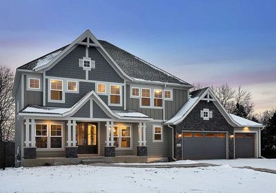 5 Bed Luxury House Plan with Lower Level Sport Court - 73370HS thumb - 01