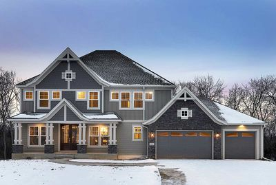 5 Bed Luxury House Plan with Lower Level Sport Court - 73370HS thumb - 02