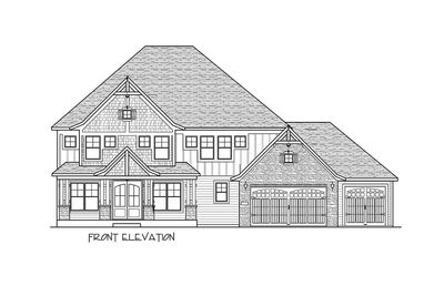 5 Bed Luxury House Plan with Lower Level Sport Court - 73370HS thumb - 56