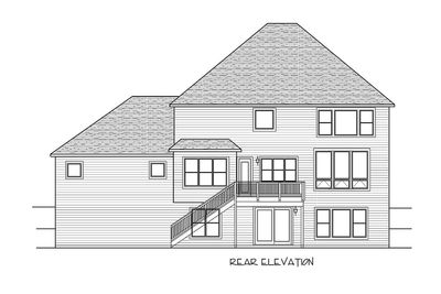 5 Bed Luxury House Plan with Lower Level Sport Court - 73370HS thumb - 58