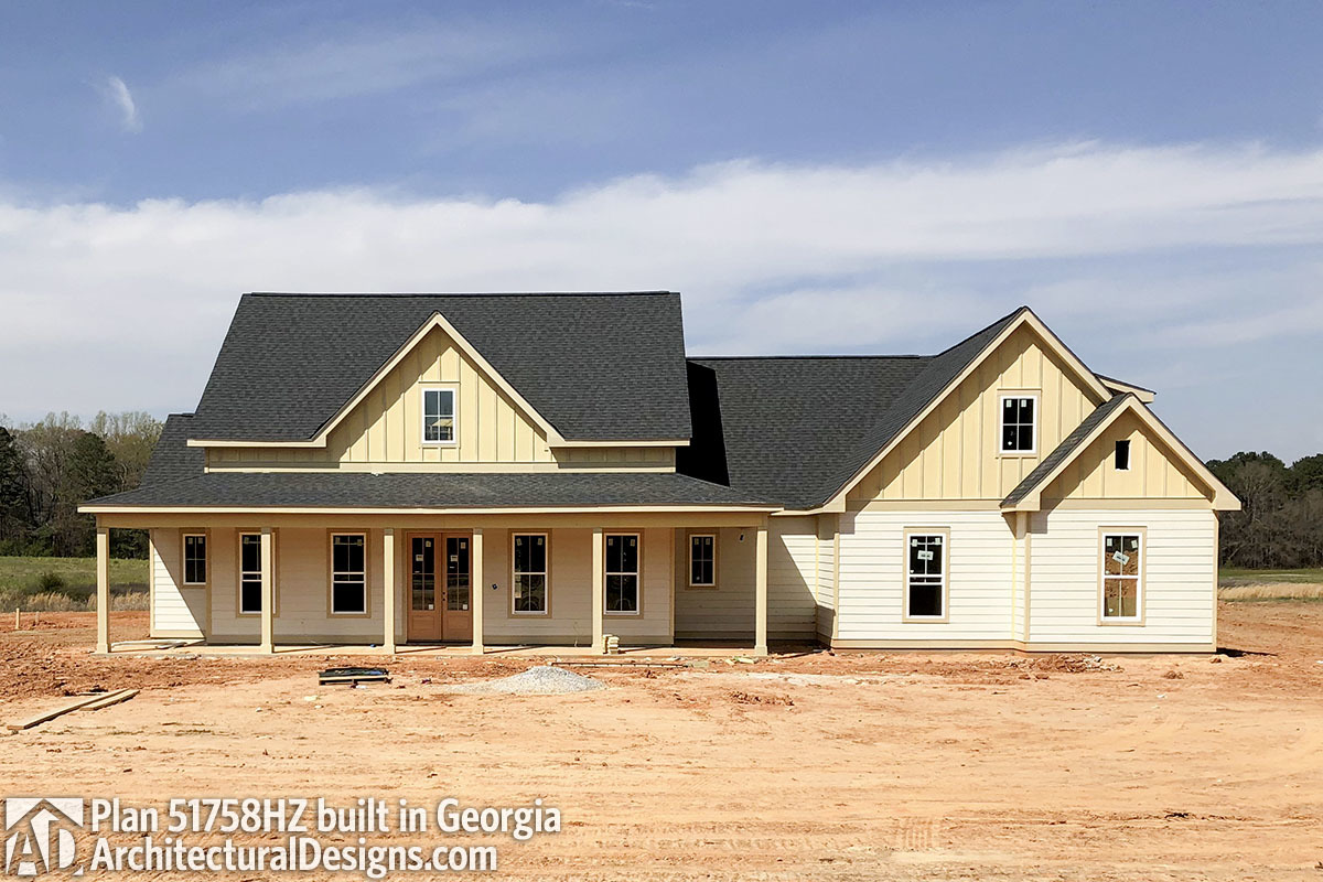 House Plan 51758HZ comes to life in Georgia - photo 001