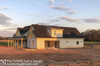 House Plan 51758HZ comes to life in Georgia - photo 002