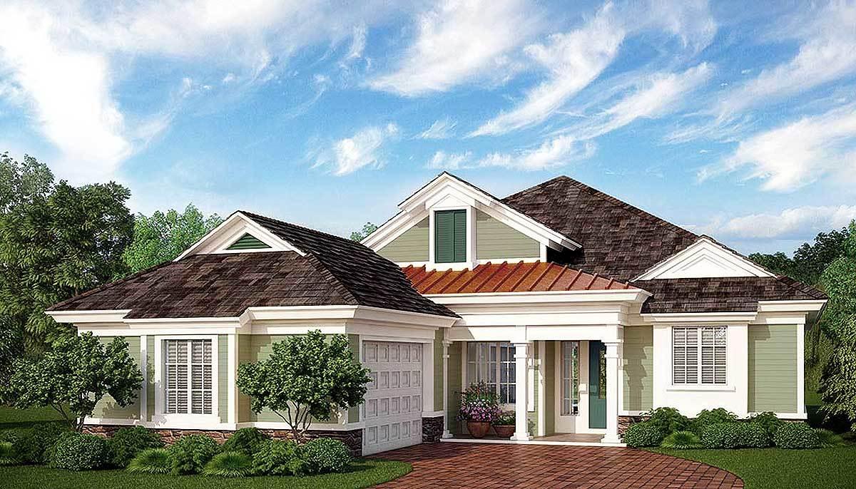 Budget friendly net zero ready house plan 33181zr for Net zero homes plans