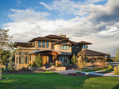 Unique Craftsman House Plan with Sunken Great Room - 95031RW thumb - 01