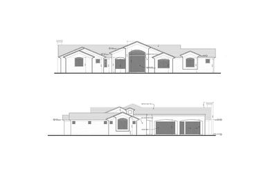 Tuscan Plans Architectural Designs Ranch House Design