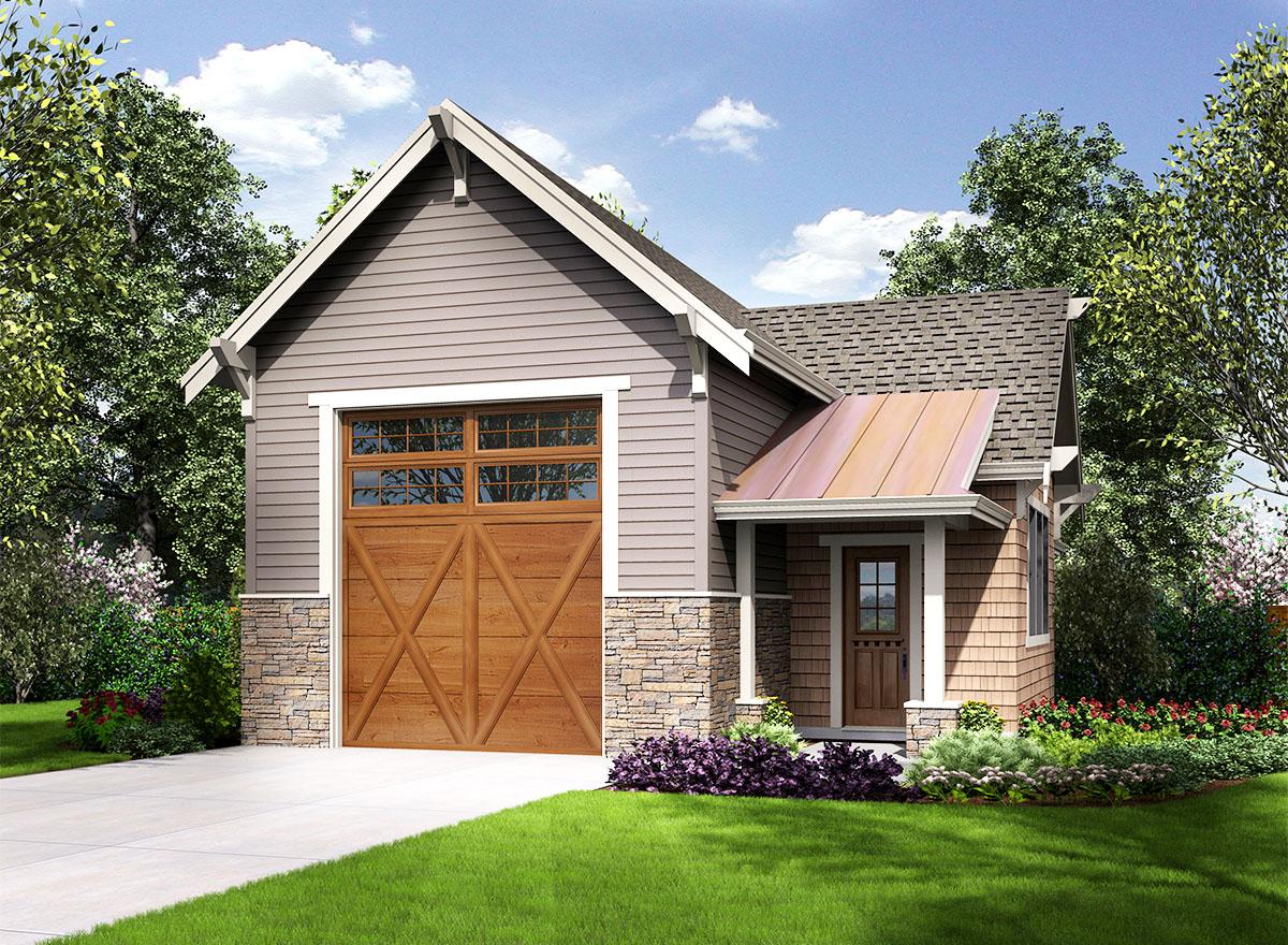 Craftsman Style Rv Garage 23664jd Architectural