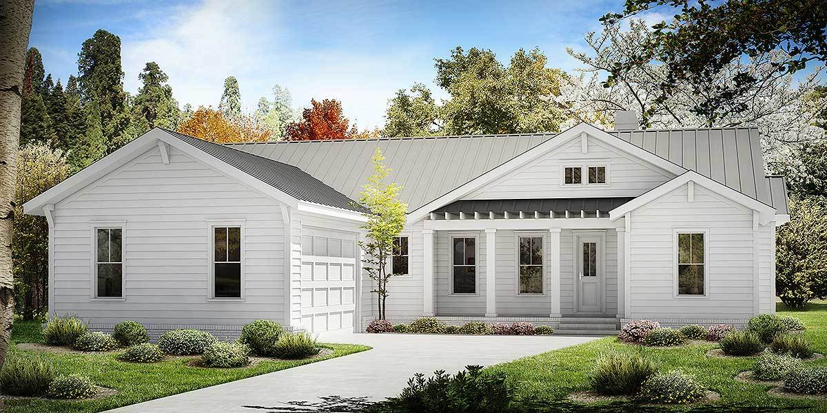 One Story Farmhouse Plans one story farmhouse plan - 25630ge | architectural designs - house