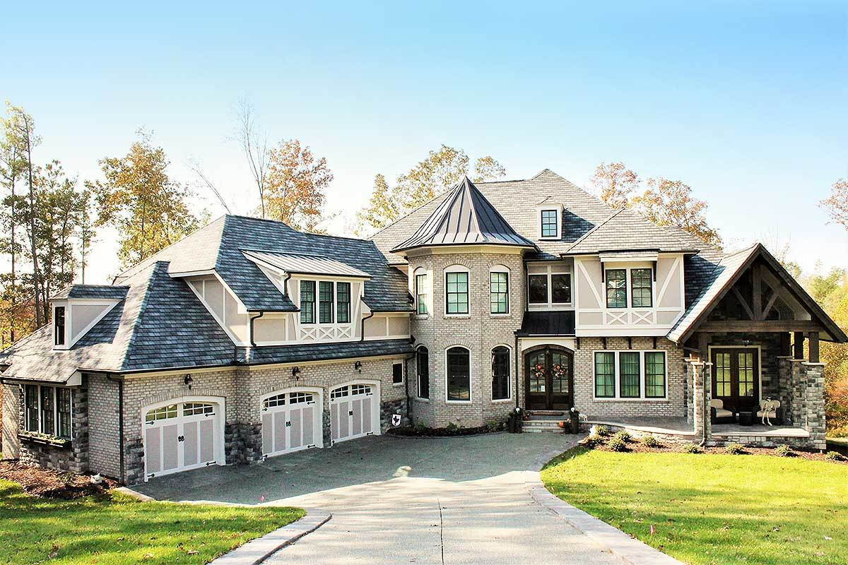 Stunning european house plan loaded with special details for European home plans