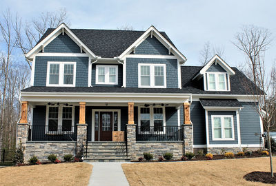 Craftsman House Plan with Main Floor Game Room and Bonus Over