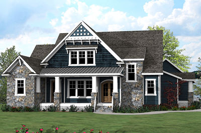 Charming Spacious Northwest House Plan With Playroom For Kids   500009VV Thumb   01 Great Ideas