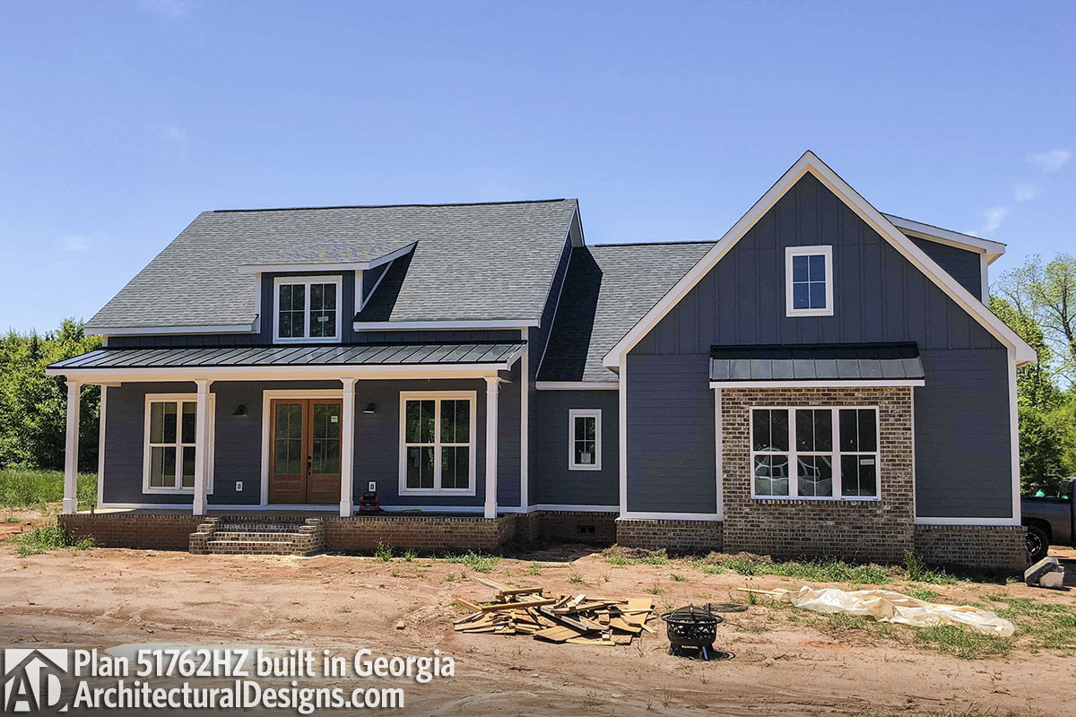 House Plan 51762HZ Comes To Life In Georgia! - photo 001