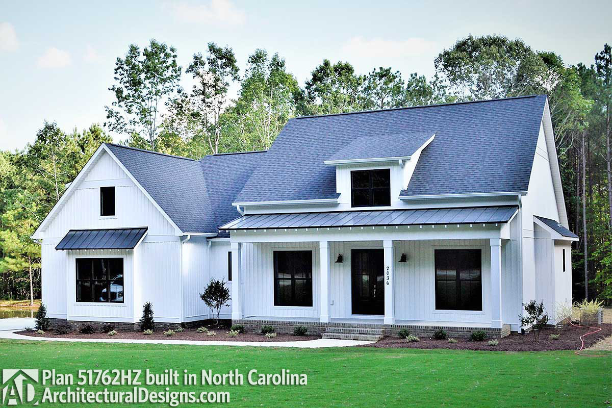 House Plan 51762HZ comes to life in North Carolina - photo 001