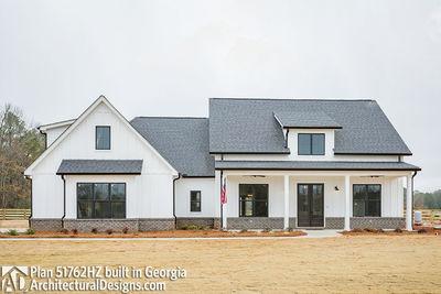 Budget friendly modern farmhouse plan with bonus room for Farmhouse plans with bonus room