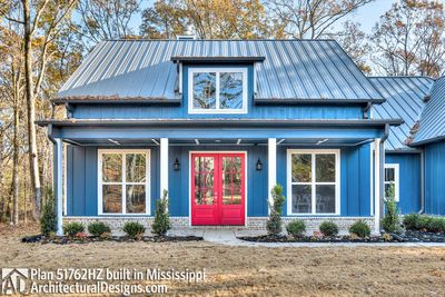 Modern Farmhouse Plan 51762HZ comes to life in Mississippi - photo 011