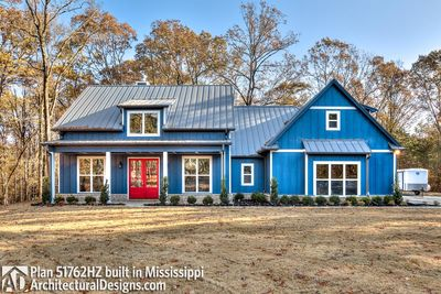 Modern Farmhouse Plan 51762HZ comes to life in Mississippi - photo 001