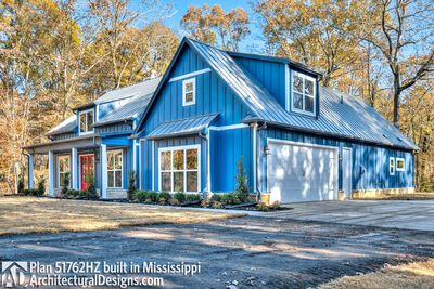 Modern Farmhouse Plan 51762HZ comes to life in Mississippi - photo 006