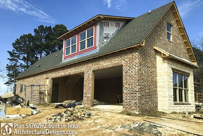 ... House Plan 51762HZ Built Hill Country Style In Texas   Photo 002 ...