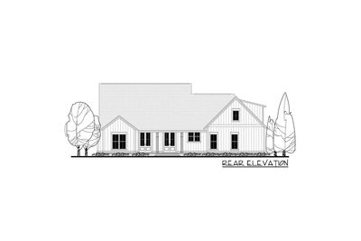 Budget Friendly Modern Farmhouse Plan With Bonus Room   51762HZ Thumb   09