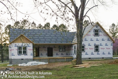 Perfect ... House Plan 51762HZ Comes To Life In Arkansas   Photo 009 ...