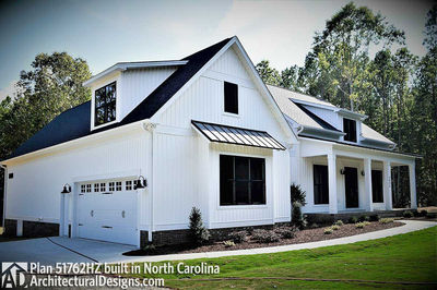 House Plan 51762HZ comes to life in North Carolina - photo 002