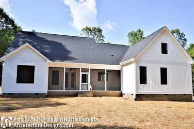 House Plan 51762HZ comes to life in North Carolina - photo 016