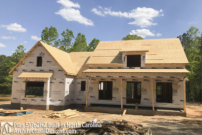 House Plan 51762HZ comes to life in North Carolina - photo 028
