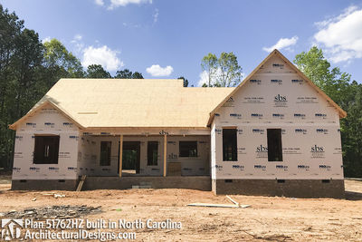 House Plan 51762HZ comes to life in North Carolina - photo 030