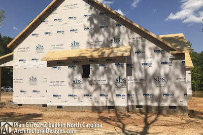 House Plan 51762HZ comes to life in North Carolina - photo 031