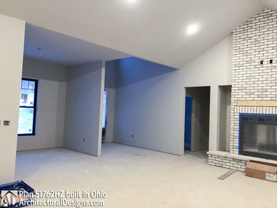 ... House Plan 51762HZ Comes To Life In Ohio   Photo 020 ...