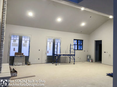 ... House Plan 51762HZ Comes To Life In Ohio   Photo 022 ...