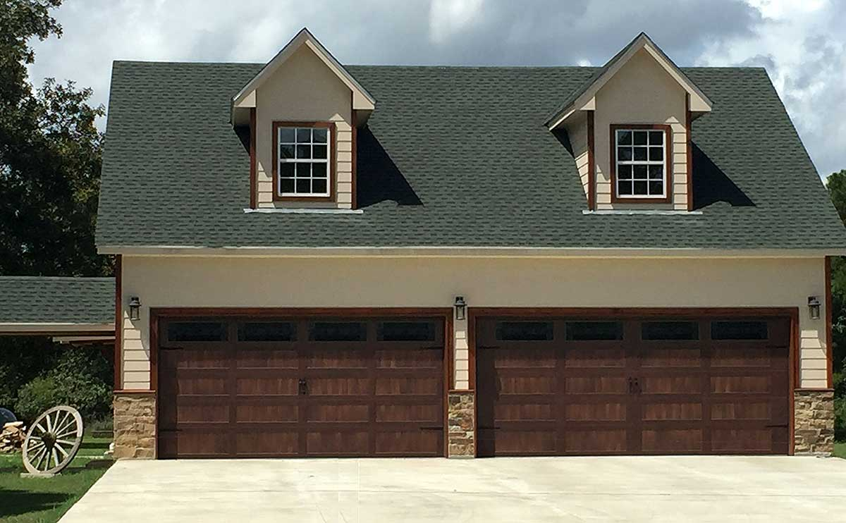 Detached Garage Plan With Man Cave Potential 68471vr