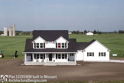 Farmhouse Plan 52285WM built in Missouri - photo 005