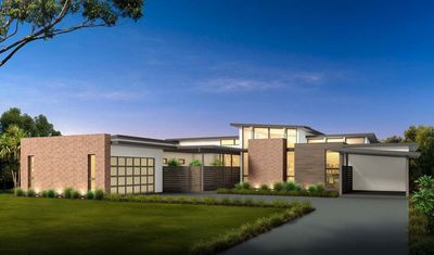 Mid-Century Modern House Plan with Courtyard - 430010LY ...